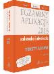 Książka Egzaminy 2016 Aplikacje radcowska i adwokacka Teksty Ustaw Tom 2 Wydanie 13 w ksiegarnia-wrzeszcz.pl