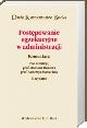 Książka Postępowanie egzekucyjne w administracji. Komentarz 2012. Wydanie 6 w ksiegarnia-wrzeszcz.pl