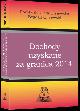 Książka Dochody uzyskane za granicą 2014 w ksiegarnia-wrzeszcz.pl
