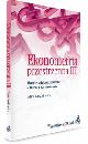 Ksi��ka Ekonometria przestrzenna III Modele wielopoziomowe Teoria i zastosowanie w ksiegarnia-wrzeszcz.pl
