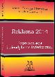 Książka Reklama 2014. Reprezentacja i nieodpłatne świadczenia w ksiegarnia-wrzeszcz.pl