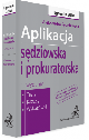 Książka Aplikacja sędziowska i prokuratorska Testy kazusy wskazówki w ksiegarnia-wrzeszcz.pl