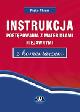 Książka Instrukcja postępowania z materiałami niejawnymi z komentarzem w ksiegarnia-wrzeszcz.pl