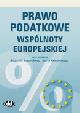 Książka Prawo podatkowe Wspólnoty Europejskiej w ksiegarnia-wrzeszcz.pl