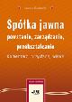 Książka Spółka jawna – powstanie, zarządzanie, przekształcanie. Komentarz, przykłady, wzory w ksiegarnia-wrzeszcz.pl