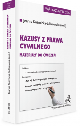 Książka Kazusy z prawa cywilnego Materiały do ćwiczeń Wydanie 2 w ksiegarnia-wrzeszcz.pl