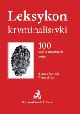 Książka Leksykon kryminalistyki w ksiegarnia-wrzeszcz.pl